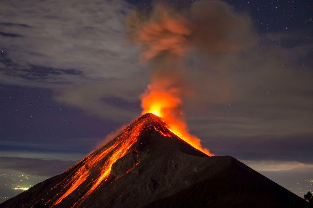 Qu'est-ce que cela signifie de rêver d'un volcan ? 1