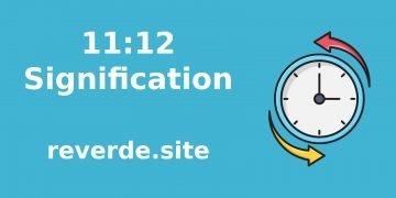 Signification du nombre 11:12 27