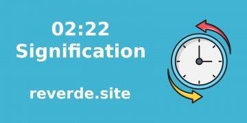 Signification du numéro 02:22 32